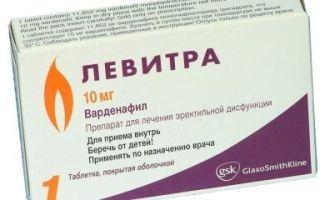 Медикаментозные препараты для улучшения потенции у мужчин