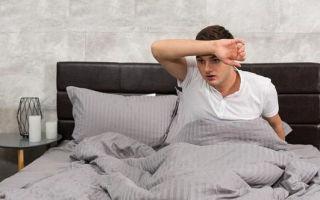 Ночное потоотделение: причины у мужчины