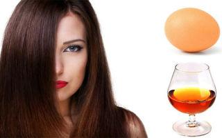 Маска для волос с коньяком — применение, маски, отзывы