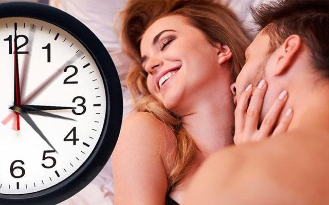 Сколько длится половой акт: средняя продолжительность полового акта