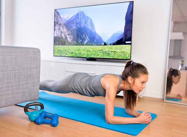 Тренировки в домашних условиях: программа и график домашних тренировок