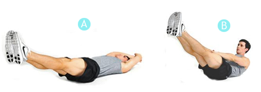 Упражнения на нижний пресс: как накачать пресс в домашних условиях мужчине