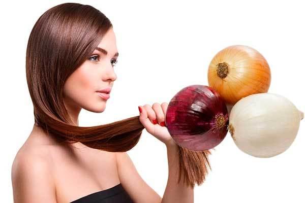 Маска из лука для волос - для роста волос, рецепт, применение, отзывы