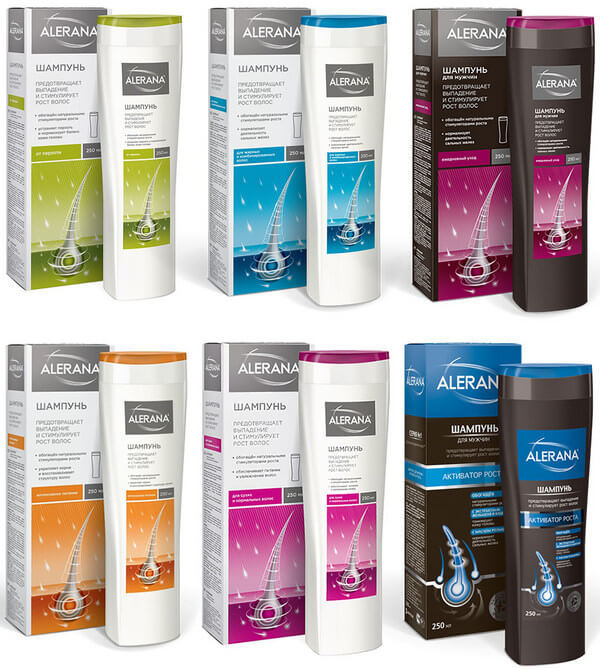 Алерана: шампунь, спрей и витамины для бороды