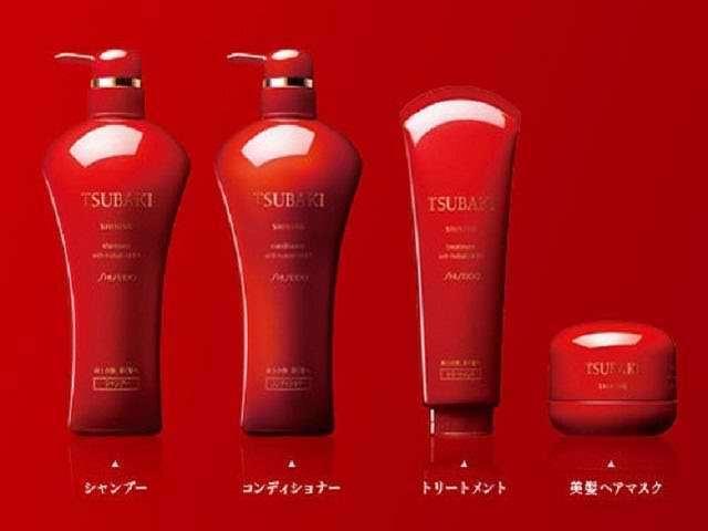 Японский шампунь tsubaki с ирокезами без сульфатов от выпадения волос