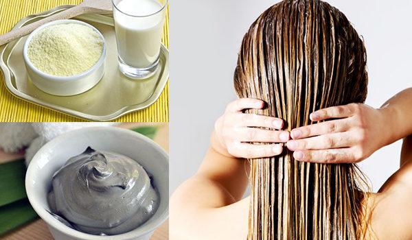 Маска для волос из белой глины: как приготовить дома