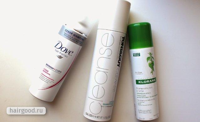 Сухой шампунь для волос: свойства и правила использования косметического средства