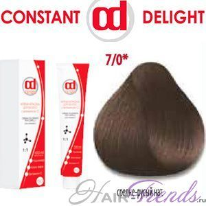 Масло для окрашивания волос constant delight палитра: инструкция и отзывы