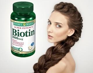 Биотин для волос: витамин для здоровых и красивых локонов