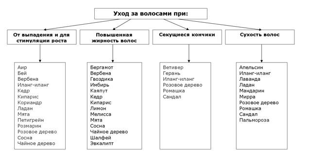 Масло сандала для волос: свойства и применение косметического продукта