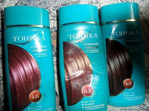 Оттеночный бальзам для волос: Тоника, , Роколор, палитра и отзывы о них