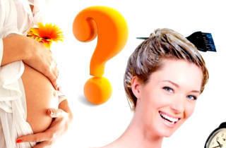 Какой краской можно красить волосы беременным?