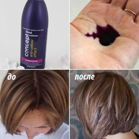 Тонирующие шампуни для волос: для русых, седых и мелированных волос