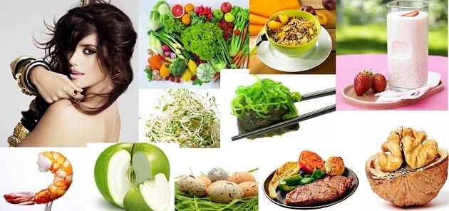Питание для волос: еда, продукты, диета для роста волос