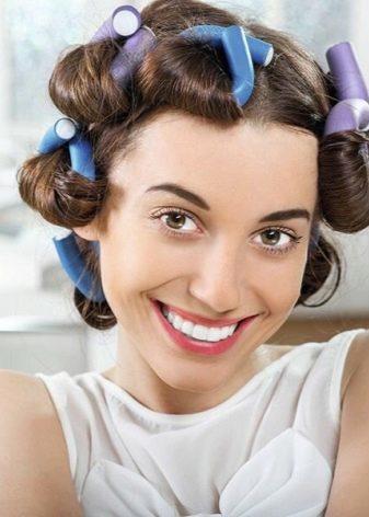 Папильотки для волос: инструменты для создания красивой прически