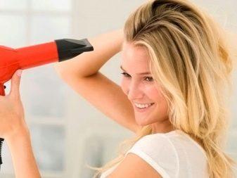 Как правильно сушить волосы феном: укладка феном длинных волос