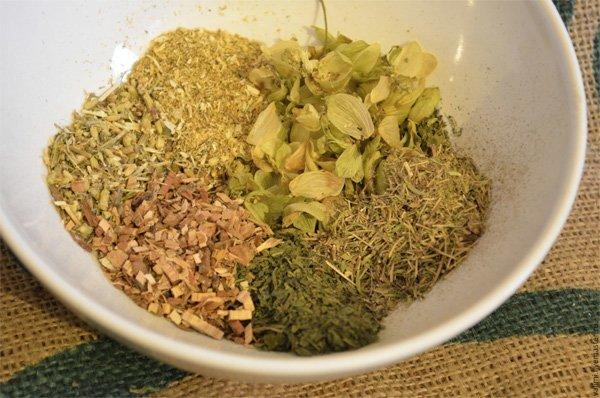 Отвар трав от выпадения волос: рецепты смесей