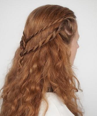 Жгутики из волос: быстрый, эффектный и безопасный способ укладки